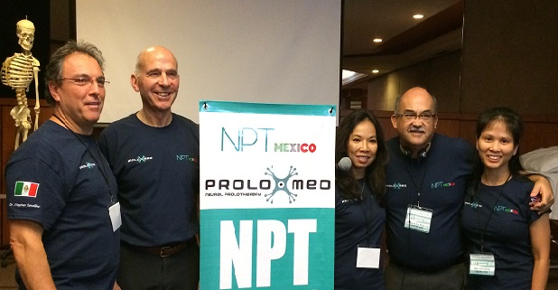 Teaching faculty for the Neural Prolotherapy International conference 2014:  Dr. Linh Vuong (California, USA), Dr. David De La Mora (Guadalajara, Mexico), Dr. Liza Smigel (Hawaii, USA), Dr. John Lyftogt (New Zealand), Dr.Stephen Cavallino (Italy)